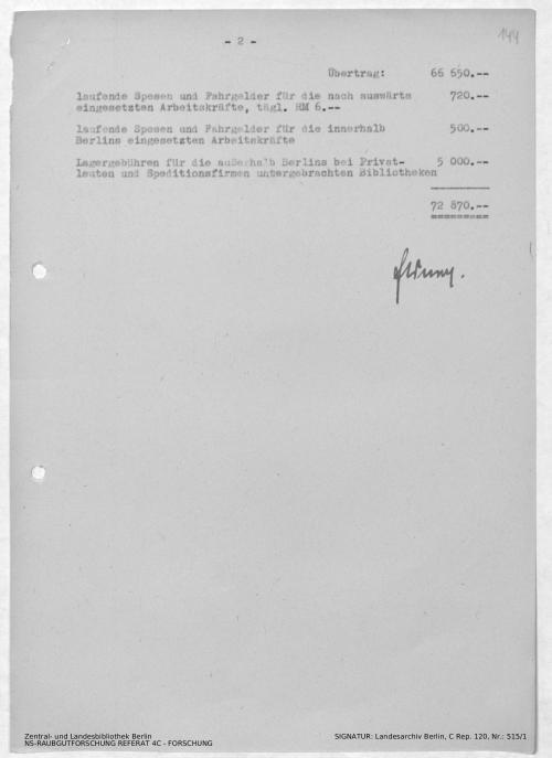 Landesarchiv Berlin, C Rep. 120 Nr. 515/1, Bl. 144