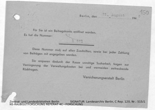 Landesarchiv Berlin, C Rep. 120 Nr. 515/1, Bl. 150