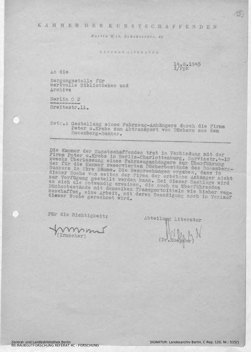 Landesarchiv Berlin, C Rep. 120 Nr. 515/1, Bl. 153