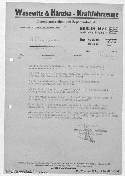 Landesarchiv Berlin, C Rep. 120 Nr. 515/1, Bl. 157