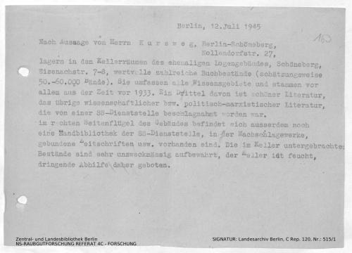 Landesarchiv Berlin, C Rep. 120 Nr. 515/1, Bl. 163