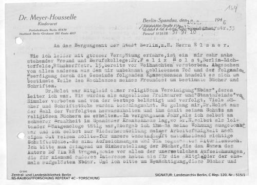 Landesarchiv Berlin, C Rep. 120 Nr. 515/1, Bl. 164