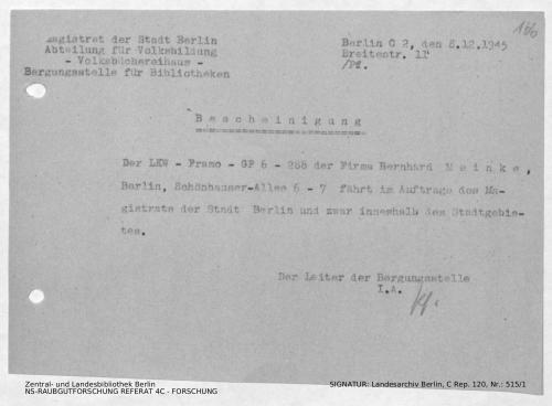 Landesarchiv Berlin, C Rep. 120 Nr. 515/1, Bl. 166