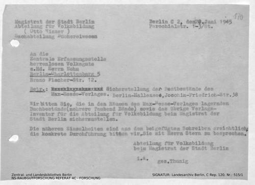 Landesarchiv Berlin, C Rep. 120 Nr. 515/1, Bl. 169