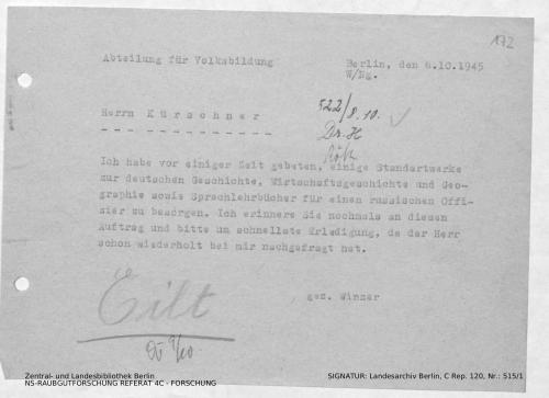 Landesarchiv Berlin, C Rep. 120 Nr. 515/1, Bl. 172