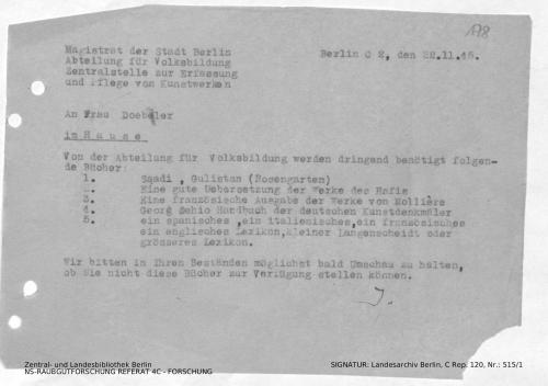 Landesarchiv Berlin, C Rep. 120 Nr. 515/1, Bl. 178