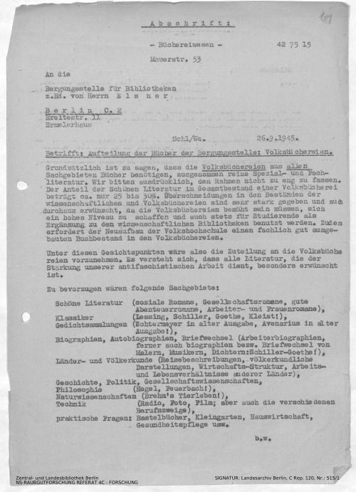Landesarchiv Berlin, C Rep. 120 Nr. 515/1, Bl. 181