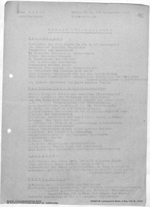 Landesarchiv Berlin, C Rep. 120 Nr. 515/1, Bl. 185