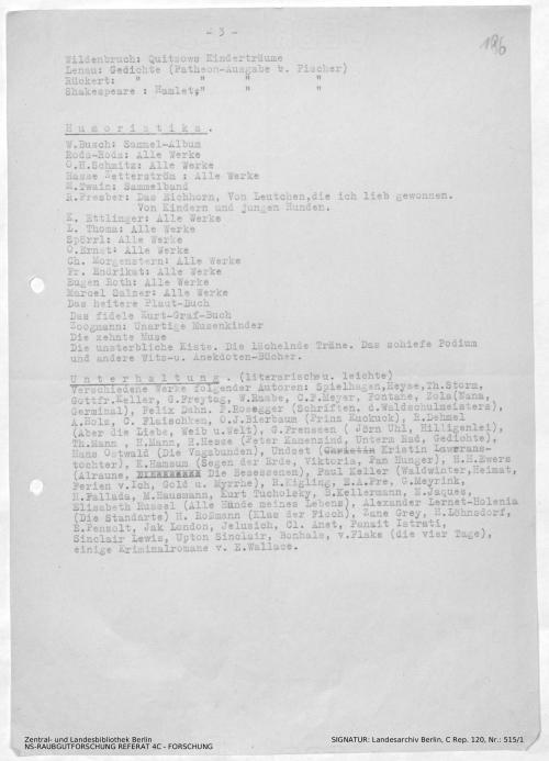 Landesarchiv Berlin, C Rep. 120 Nr. 515/1, Bl. 186