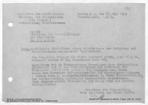 Landesarchiv Berlin, C Rep. 120 Nr. 515/1, Bl. 195