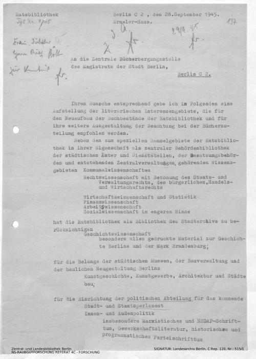 Landesarchiv Berlin, C Rep. 120 Nr. 515/1, Bl. 197