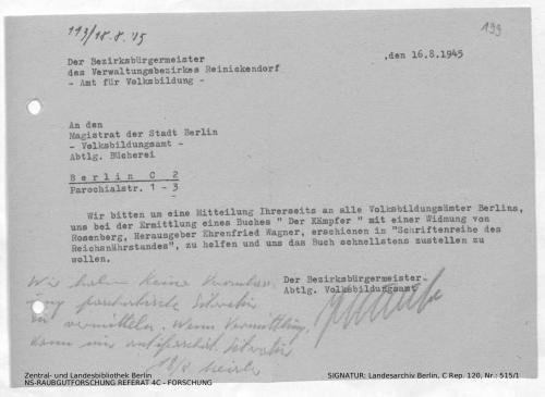Landesarchiv Berlin, C Rep. 120 Nr. 515/1, Bl. 199