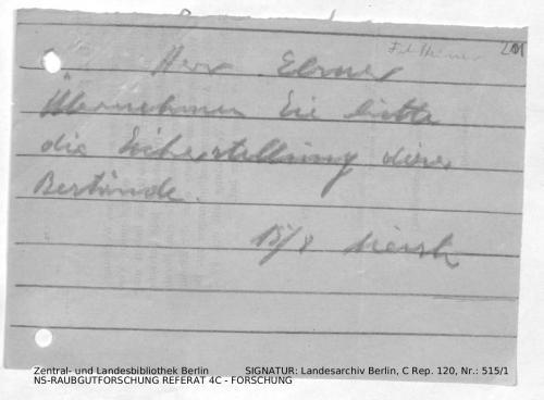 Landesarchiv Berlin, C Rep. 120 Nr. 515/1, Bl. 201