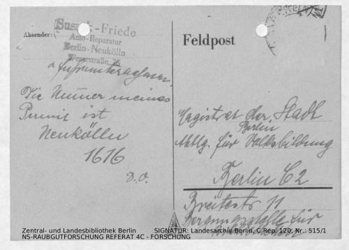 Landesarchiv Berlin, C Rep. 120 Nr. 515/1, Bl. 206