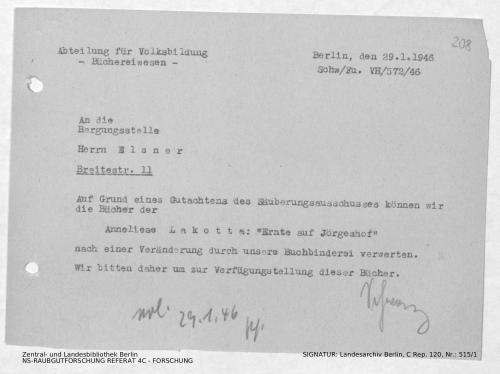 Landesarchiv Berlin, C Rep. 120 Nr. 515/1, Bl. 208