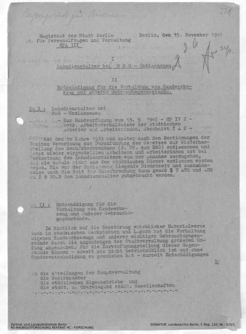 Landesarchiv Berlin, C Rep. 120 Nr. 515/1, Bl. 221