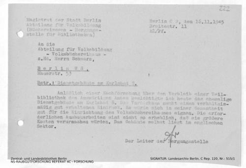 Landesarchiv Berlin, C Rep. 120 Nr. 515/1, Bl. 222