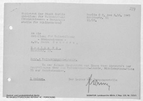 Landesarchiv Berlin, C Rep. 120 Nr. 515/1, Bl. 227