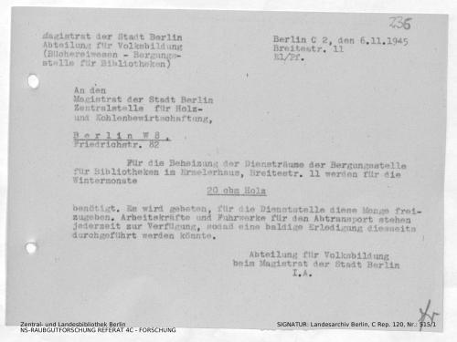 Landesarchiv Berlin, C Rep. 120 Nr. 515/1, Bl. 236