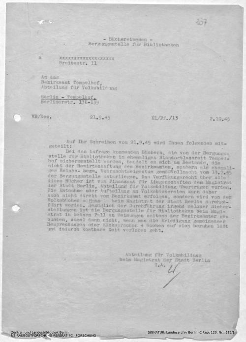Landesarchiv Berlin, C Rep. 120 Nr. 515/1, Bl. 237