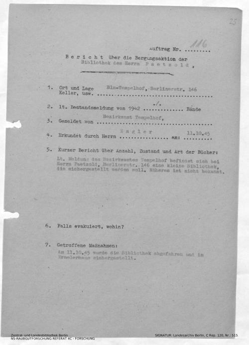 Landesarchiv Berlin, C Rep. 120 Nr. 515, Bl. 25