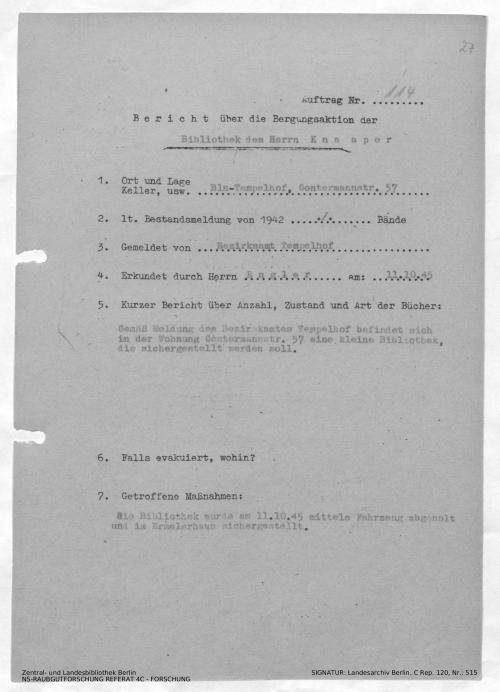 Landesarchiv Berlin, C Rep. 120 Nr. 515, Bl. 27