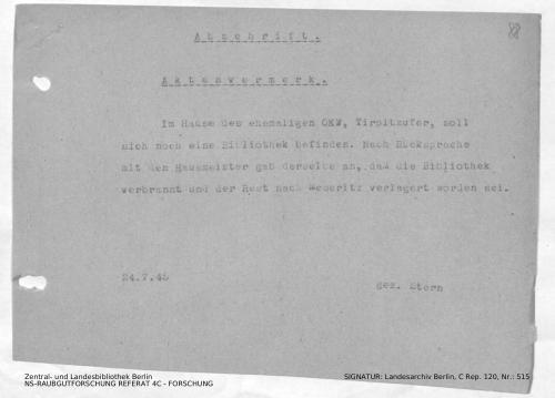 Landesarchiv Berlin, C Rep. 120 Nr. 515, Bl. 88