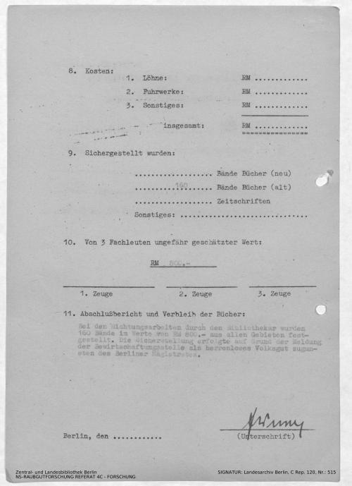 Landesarchiv Berlin, C Rep. 120 Nr. 515, Bl. 91