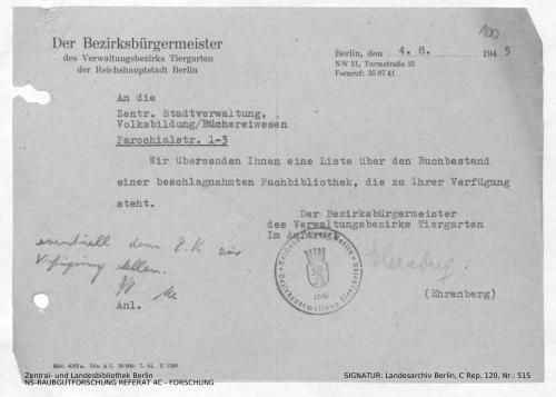 Landesarchiv Berlin, C Rep. 120 Nr. 515, Bl. 100