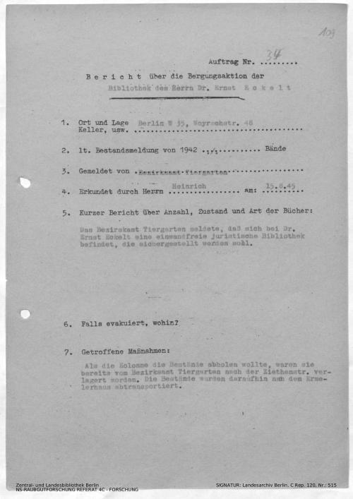 Landesarchiv Berlin, C Rep. 120 Nr. 515, Bl. 109