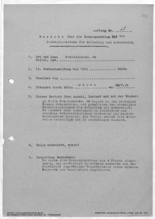 Landesarchiv Berlin, C Rep. 120 Nr. 515, Bl. 115
