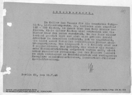 Landesarchiv Berlin, C Rep. 120 Nr. 515, Bl. 119