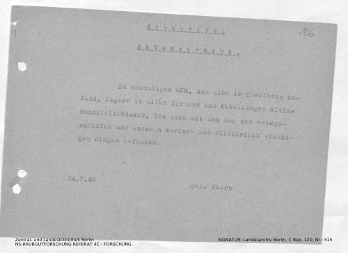 Landesarchiv Berlin, C Rep. 120 Nr. 515, Bl. 126