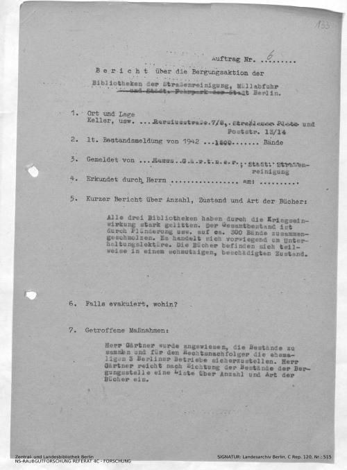 Landesarchiv Berlin, C Rep. 120 Nr. 515, Bl. 133