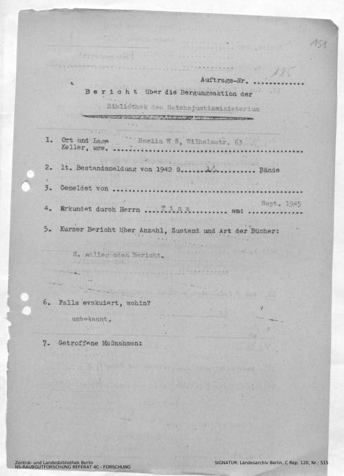 Landesarchiv Berlin, C Rep. 120 Nr. 515, Bl. 151