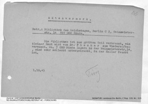 Landesarchiv Berlin, C Rep. 120 Nr. 515, Bl. 165