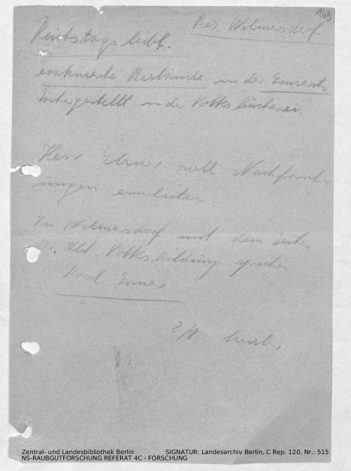 Landesarchiv Berlin, C Rep. 120 Nr. 515, Bl. 169