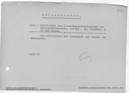 Landesarchiv Berlin, C Rep. 120 Nr. 515, Bl. 179