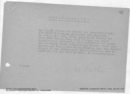 Landesarchiv Berlin, C Rep. 120 Nr. 515, Bl. 189