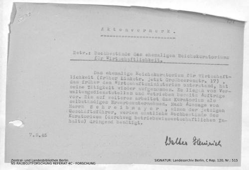 Landesarchiv Berlin, C Rep. 120 Nr. 515, Bl. 191