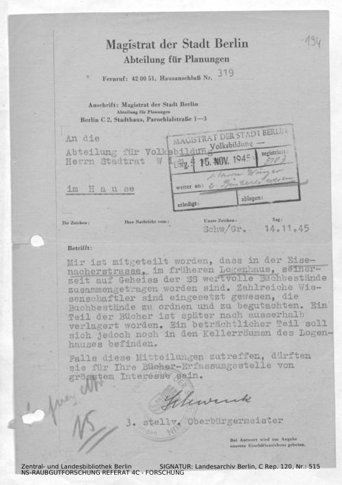 Landesarchiv Berlin, C Rep. 120 Nr. 515, Bl. 194
