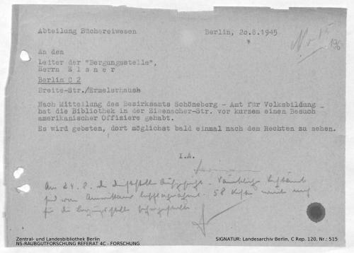 Landesarchiv Berlin, C Rep. 120 Nr. 515, Bl. 196