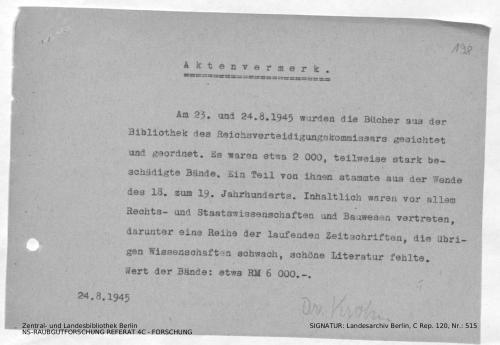 Landesarchiv Berlin, C Rep. 120 Nr. 515, Bl. 198/199