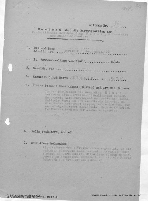 Landesarchiv Berlin, C Rep. 120 Nr. 515, Bl. 205