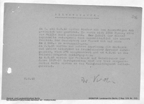 Landesarchiv Berlin, C Rep. 120 Nr. 515, Bl. 206