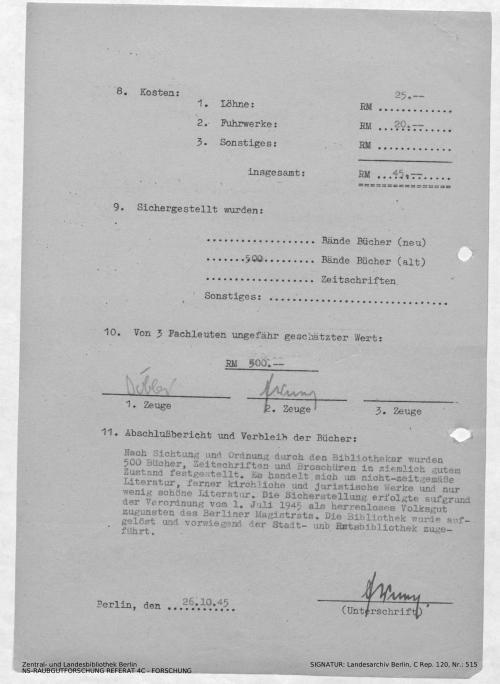 Landesarchiv Berlin, C Rep. 120 Nr. 515, Bl. 209