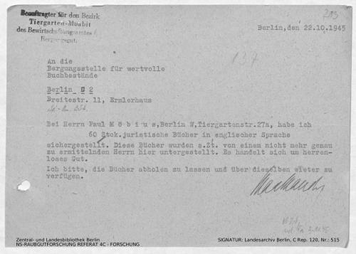 Landesarchiv Berlin, C Rep. 120 Nr. 515, Bl. 213