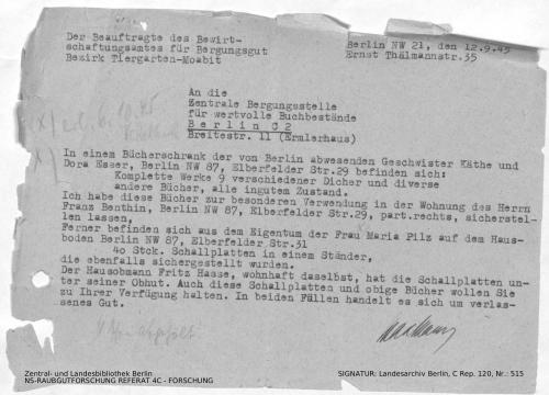 Landesarchiv Berlin, C Rep. 120 Nr. 515, Bl. 219