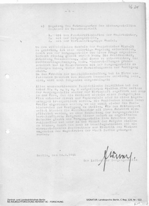 Landesarchiv Berlin, C Rep. 120 Nr. 522, Bl. 46
